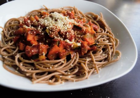 frau janik Dinkel Spaghetti