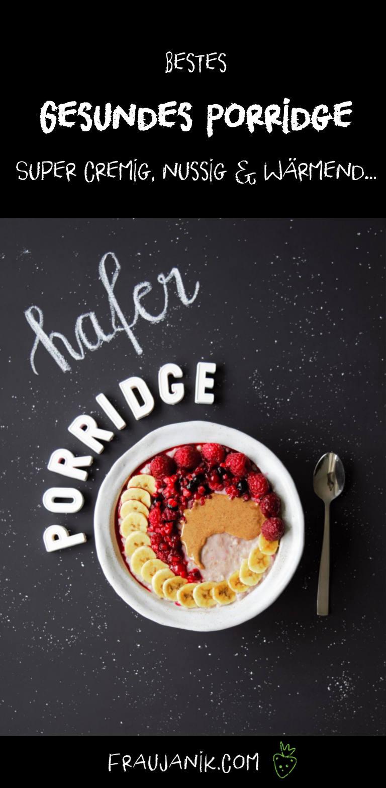 Porridge, vegan, gesund