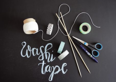 Washi Tape Girlande Frau Janik