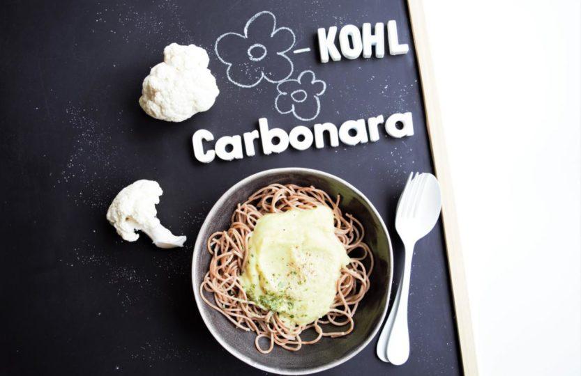 Blumenkohl Carbonara