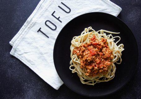 vegane Tofu- Bolognese