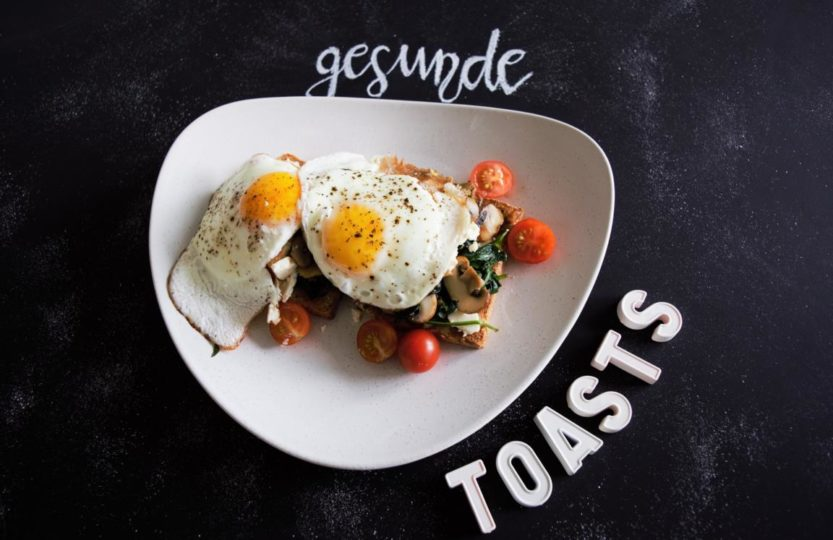 gesunde Toasts