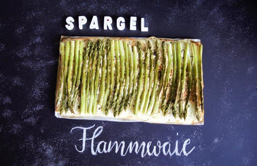 Spargel Flammwaie