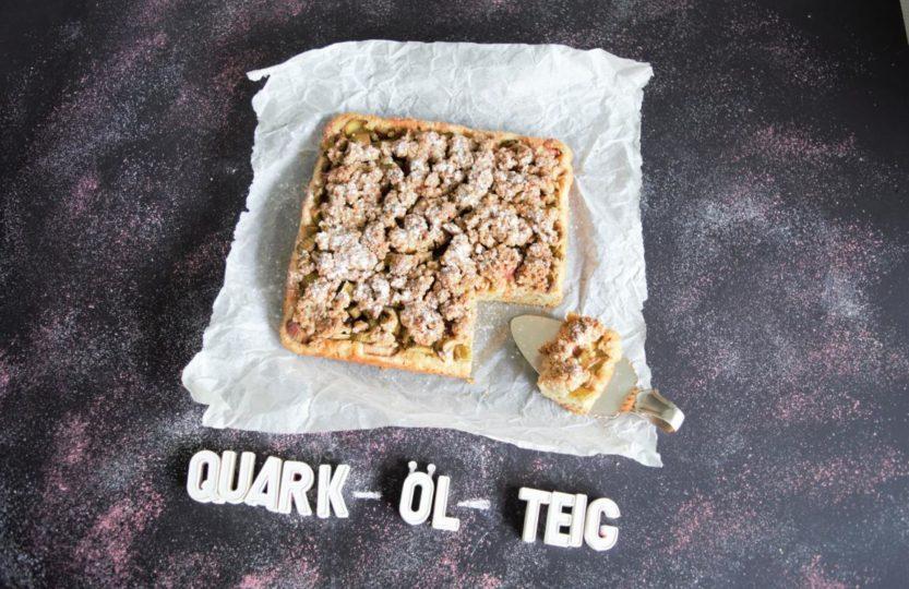 gesunder Steuselkuchen mit Quarkölteig