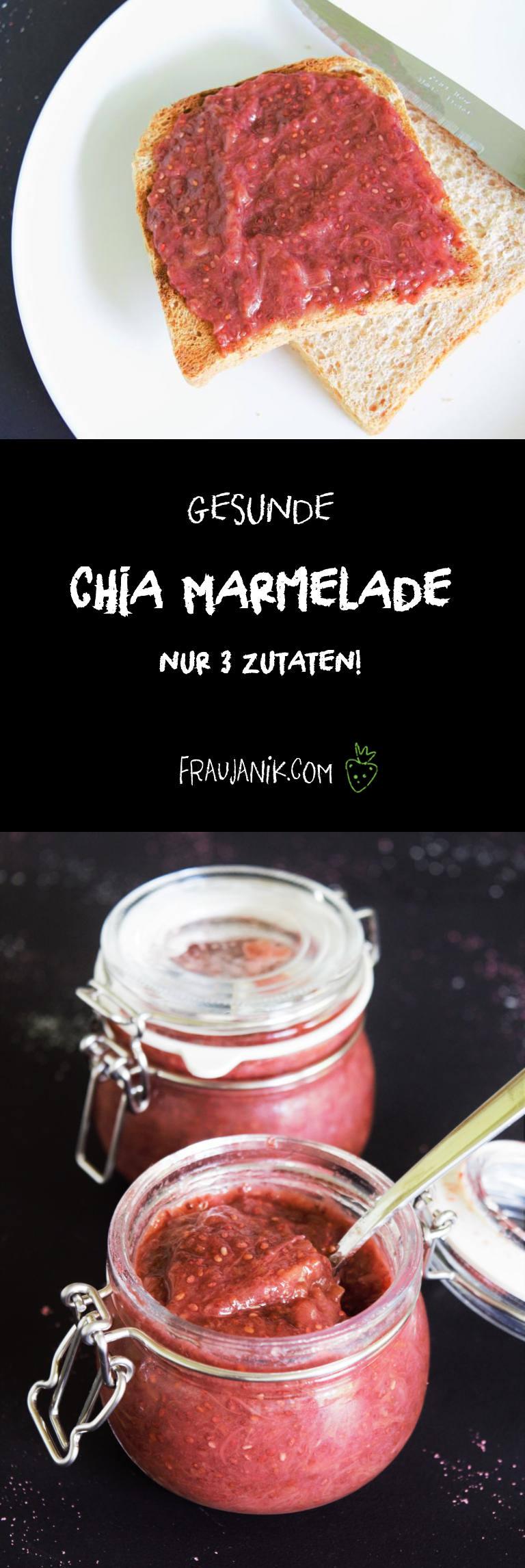 Chia Marmelade selber machen