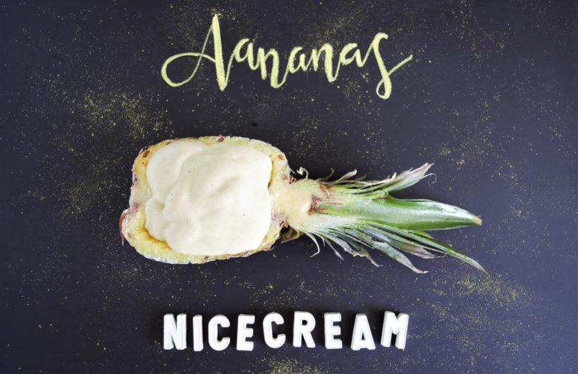 Ananas Nicecream gesund
