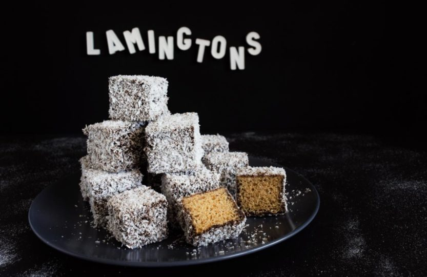 vegane Lamingtons