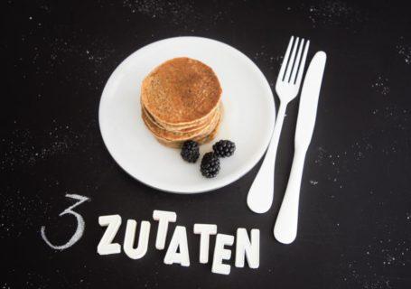Gesunde Pancakes 3 Zutaten