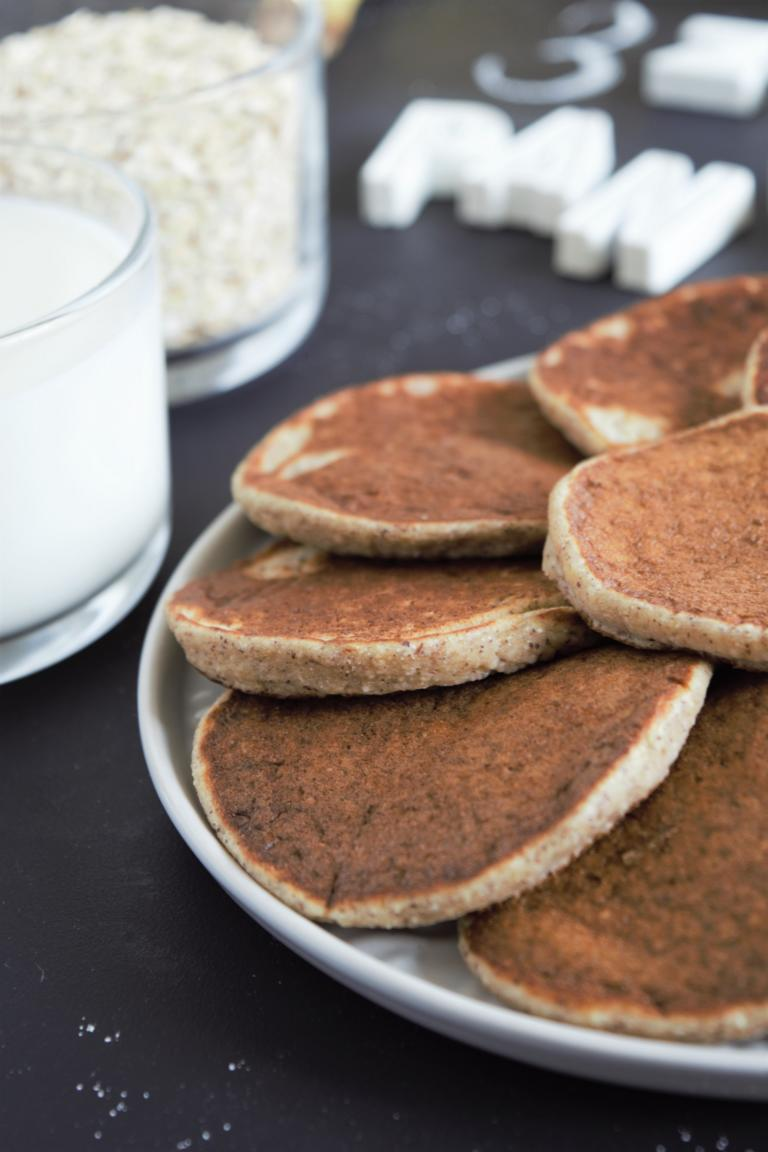 vegane, gesunde Pancakes
