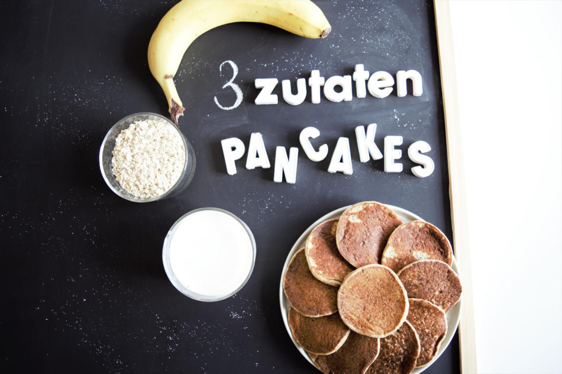gesunde pancakes ohne zucker 3 zutaten 1 mixer frau. Black Bedroom Furniture Sets. Home Design Ideas