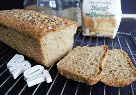 Brotbackmischung Dinkelvollkornbrot Aldi