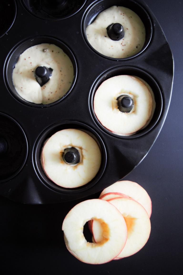 Apfeldonuts/ Apfelküchlein