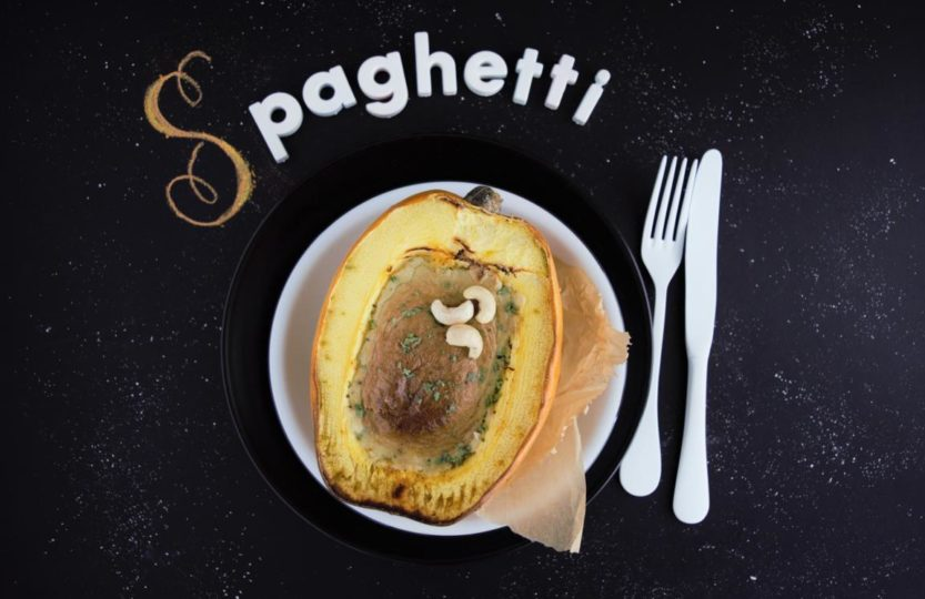 Spaghetti Kürbis