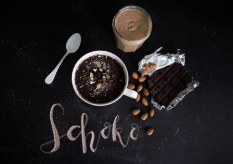 Tassenkuchen Schoko-Mandel