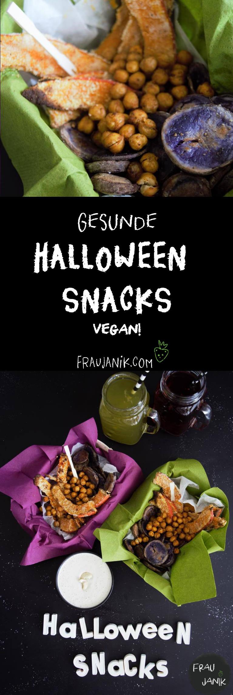 Halloween Snacks, vegan