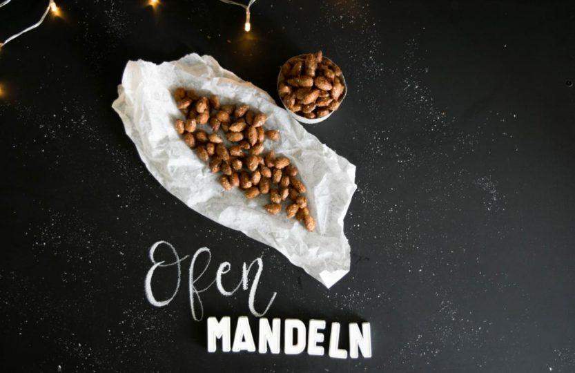 Gebrannte Mandeln im Ofen