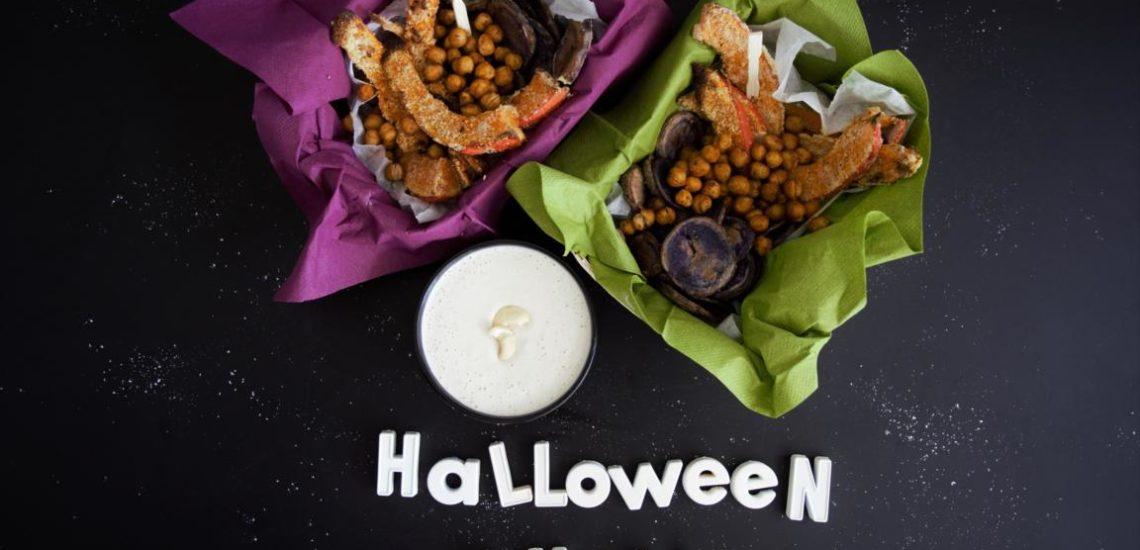 gesunde vegane Halloween Snacks