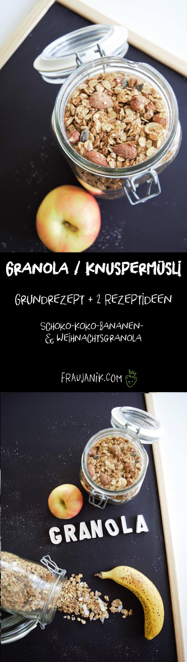 Granola Knuspermüsli, vegan