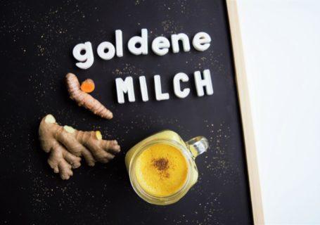 goldene Milch vegan