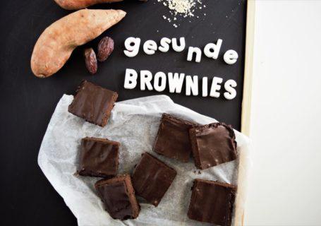Süßkartoffel Brownies
