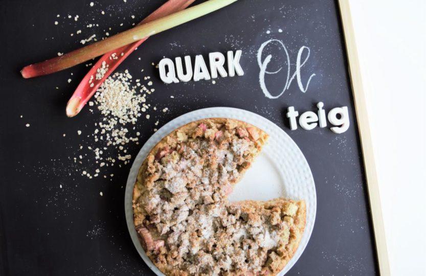 Gesunder Streuselkuchen mit Quark-Öl-Teig