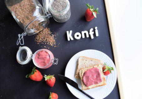 Konfitüre/ Marmelade ohne Zucker ohne Kochen
