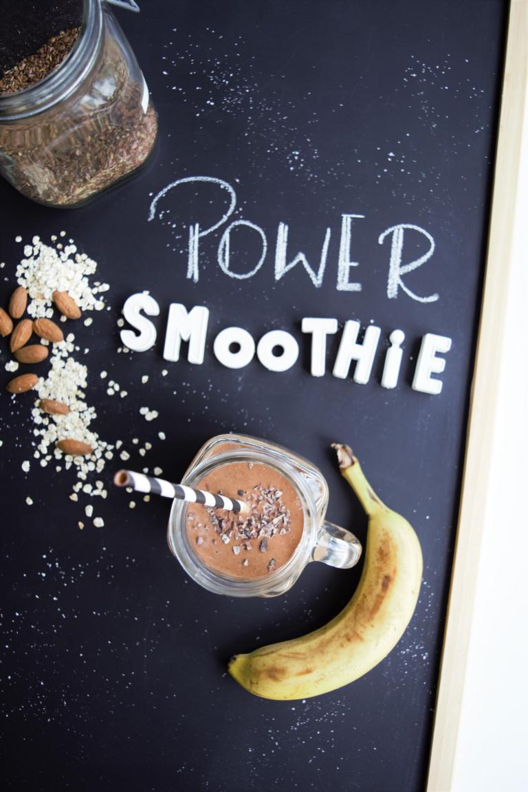 power Smoothie, Frühstücks Smoothie, Philips Kaffeemaschine