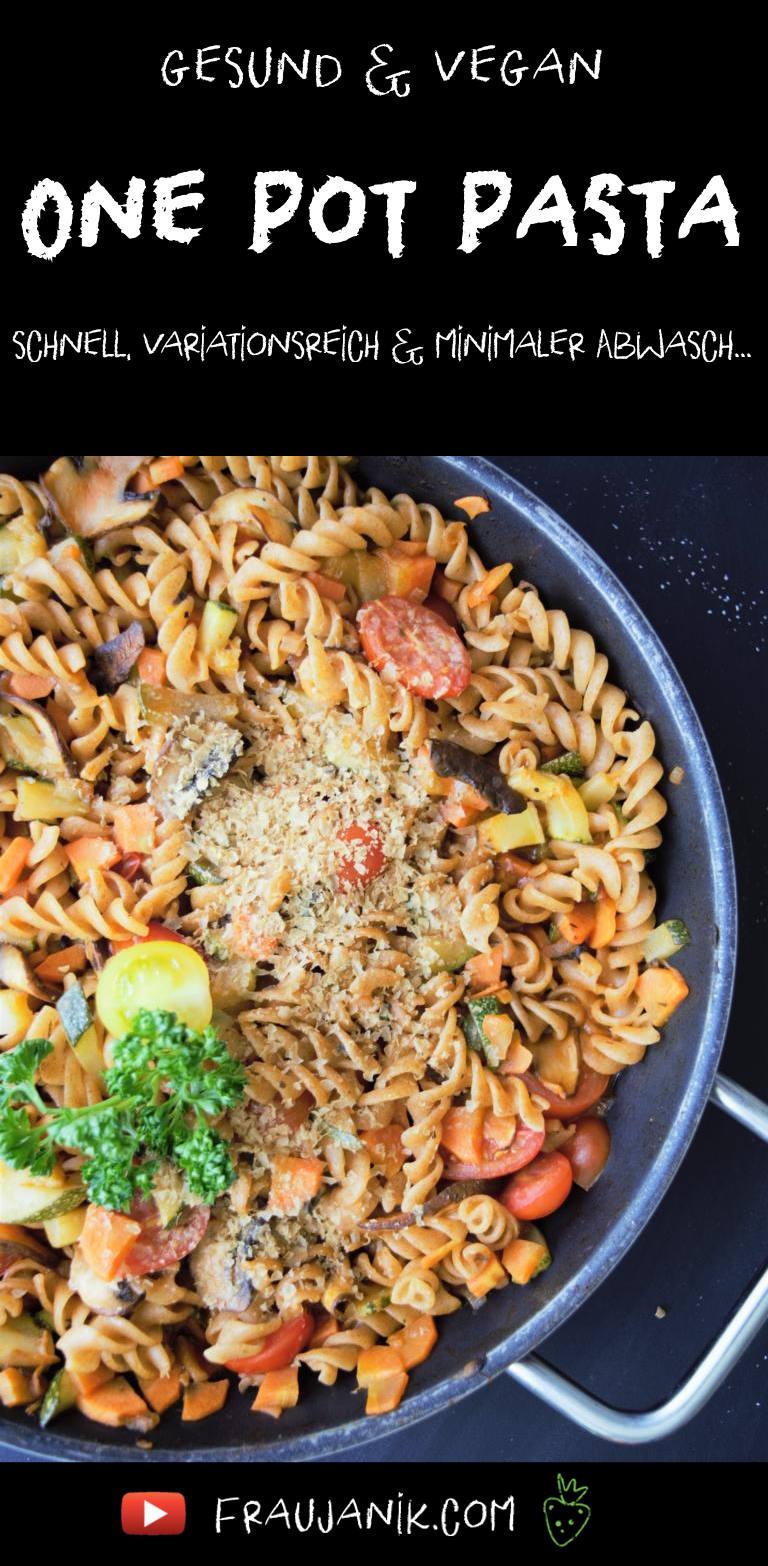one pot pasta vegan