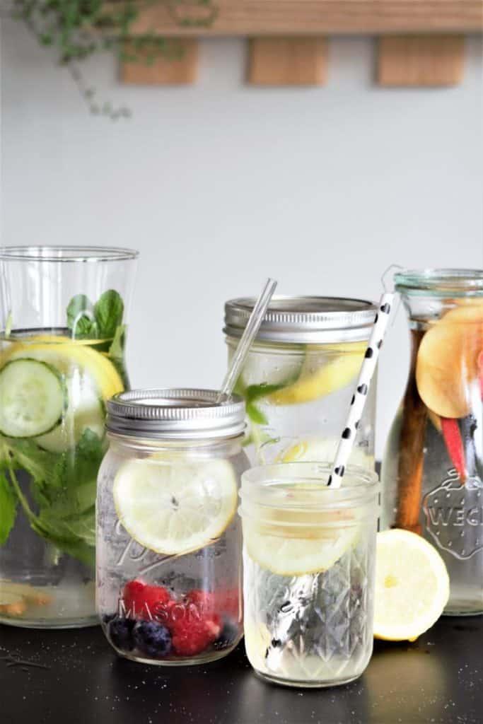 Infused Water, Wasser mit Geschmack, gesunde Getränke, sge, Lebensmittelpyramide