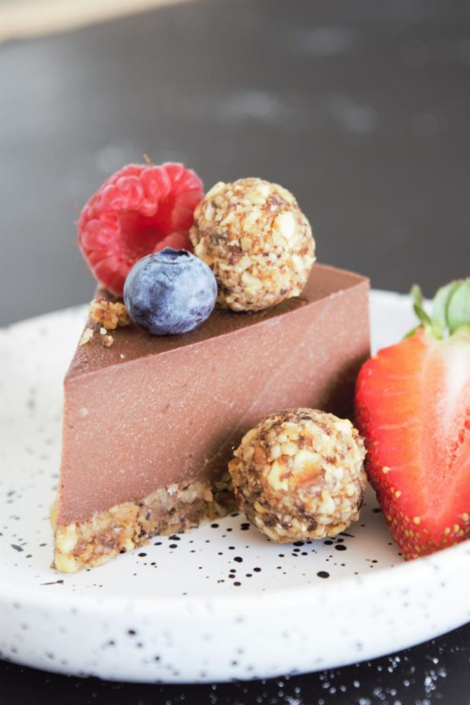 Nutella/ Schoko Torte ohne backen | gesund & vegan