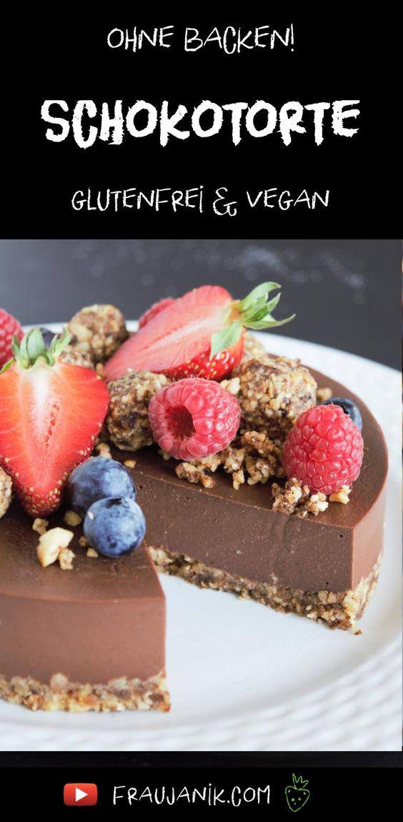 Nutella Torte ohne backen vegan