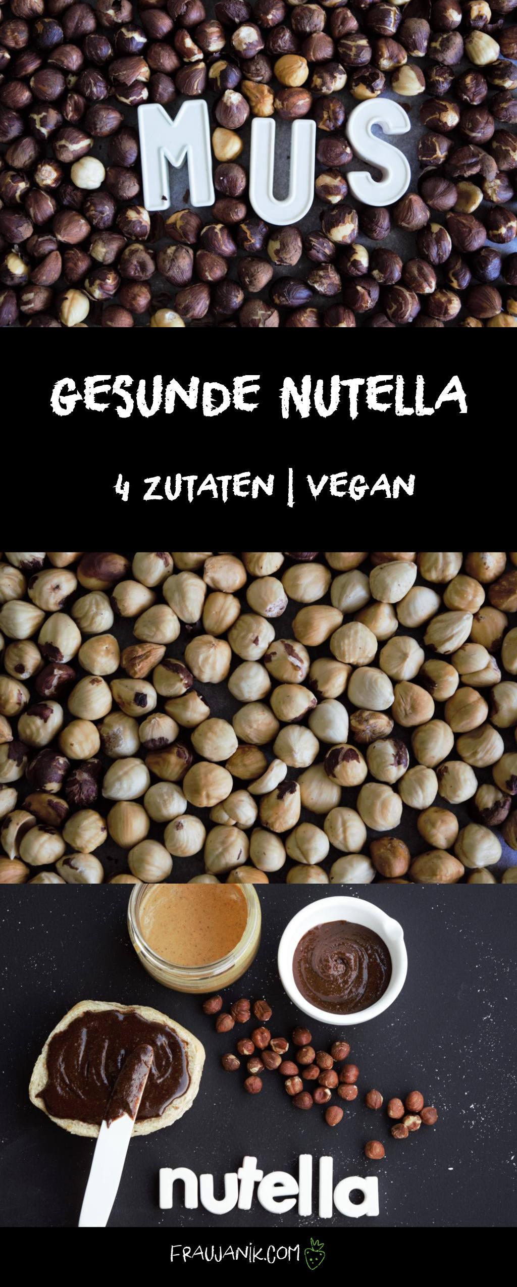 Gesunde Nutella, vegan