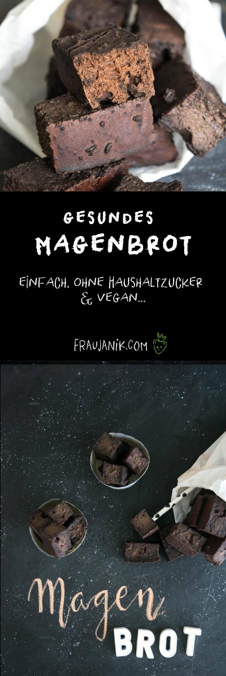 gesundes Magenbrot, vegan