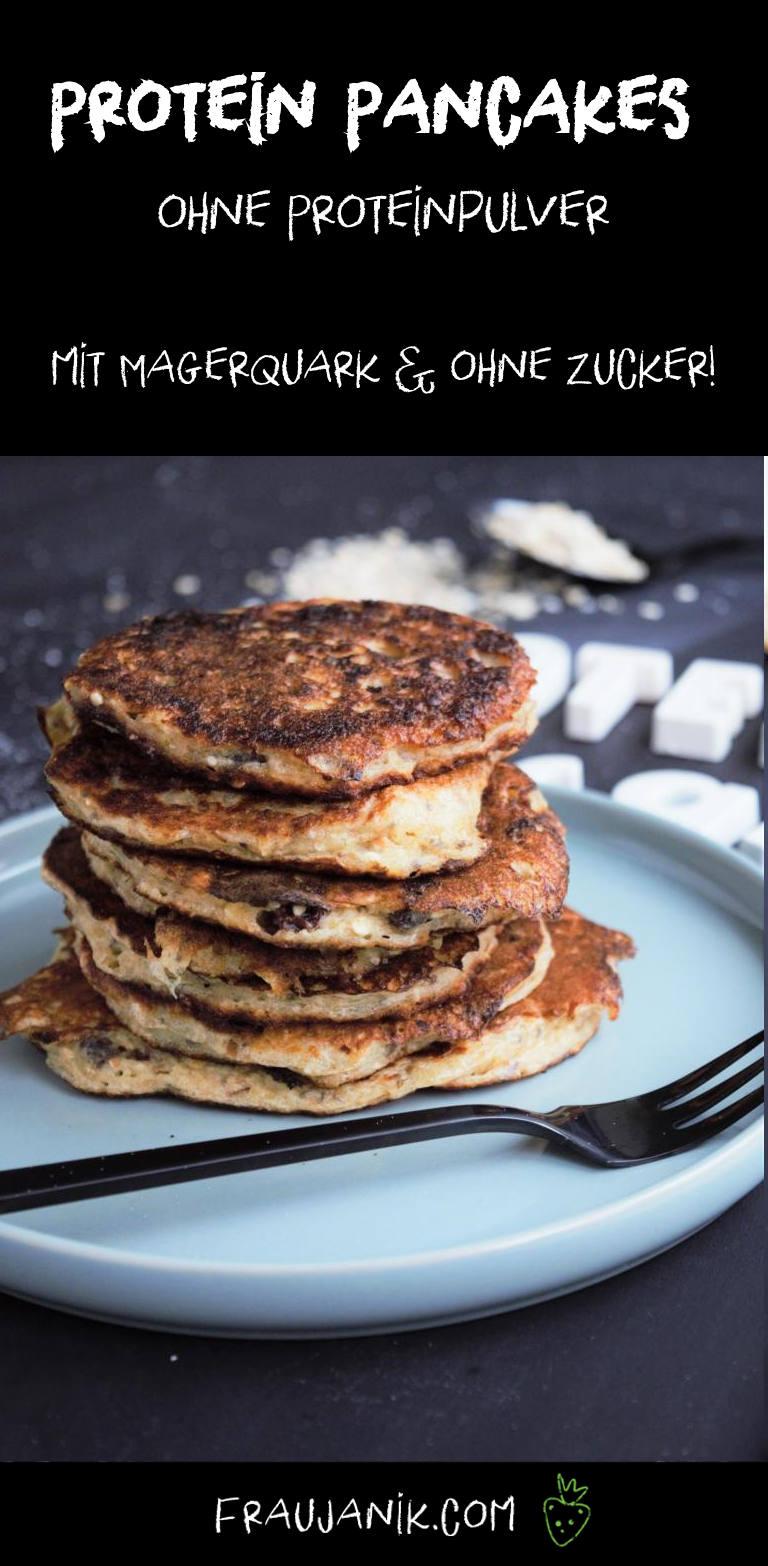 Protein Pancake mit Magerquark ohne Proteinpulver