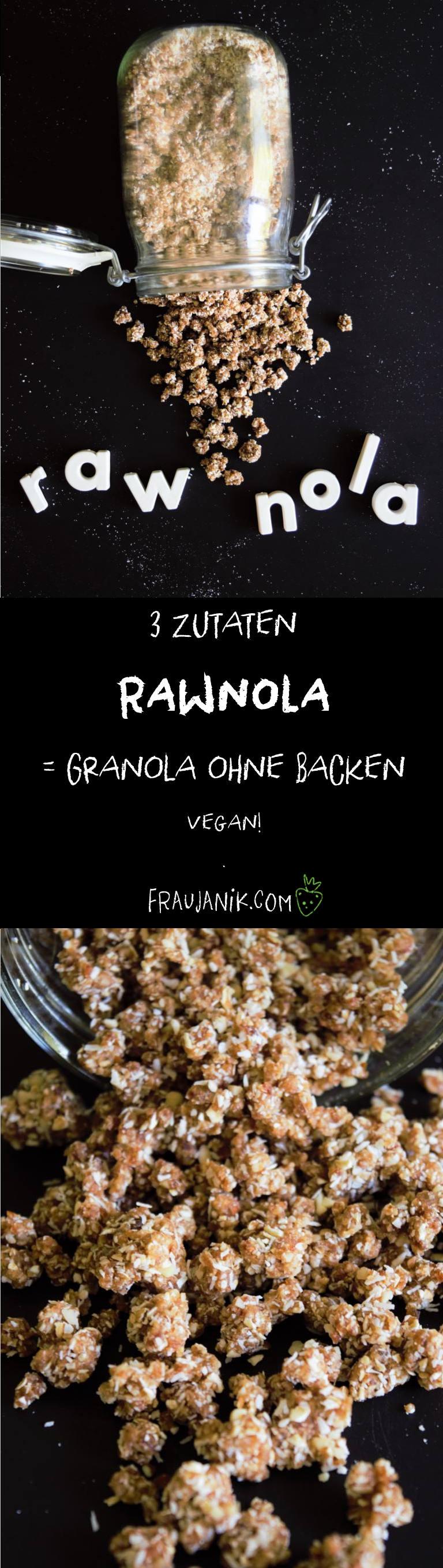Rawnola, Granola ohne Backen