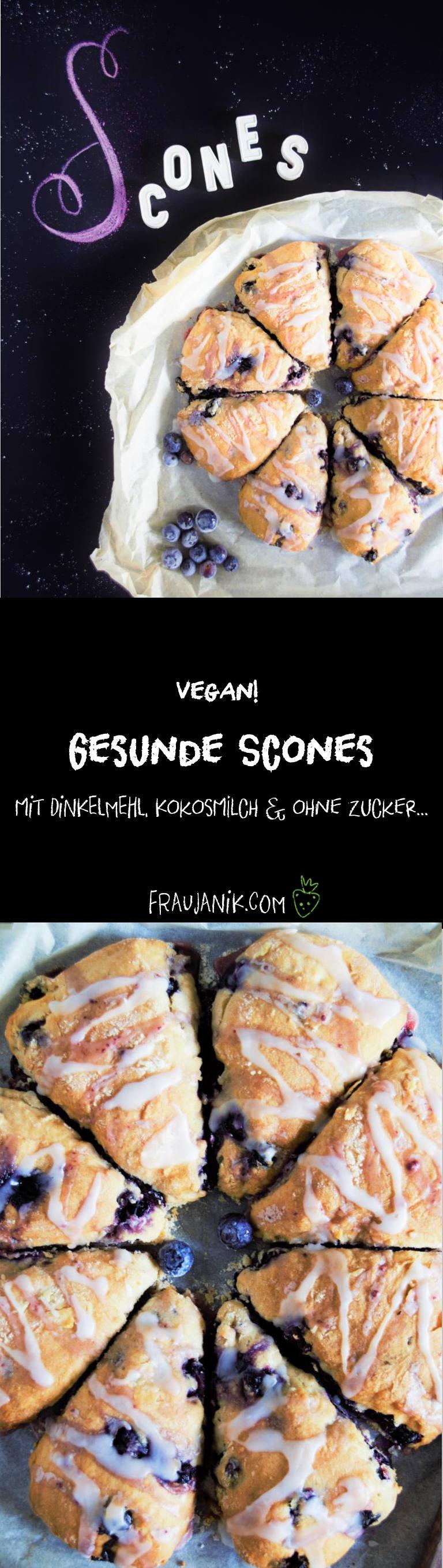 Scones vegan heidelbeeren