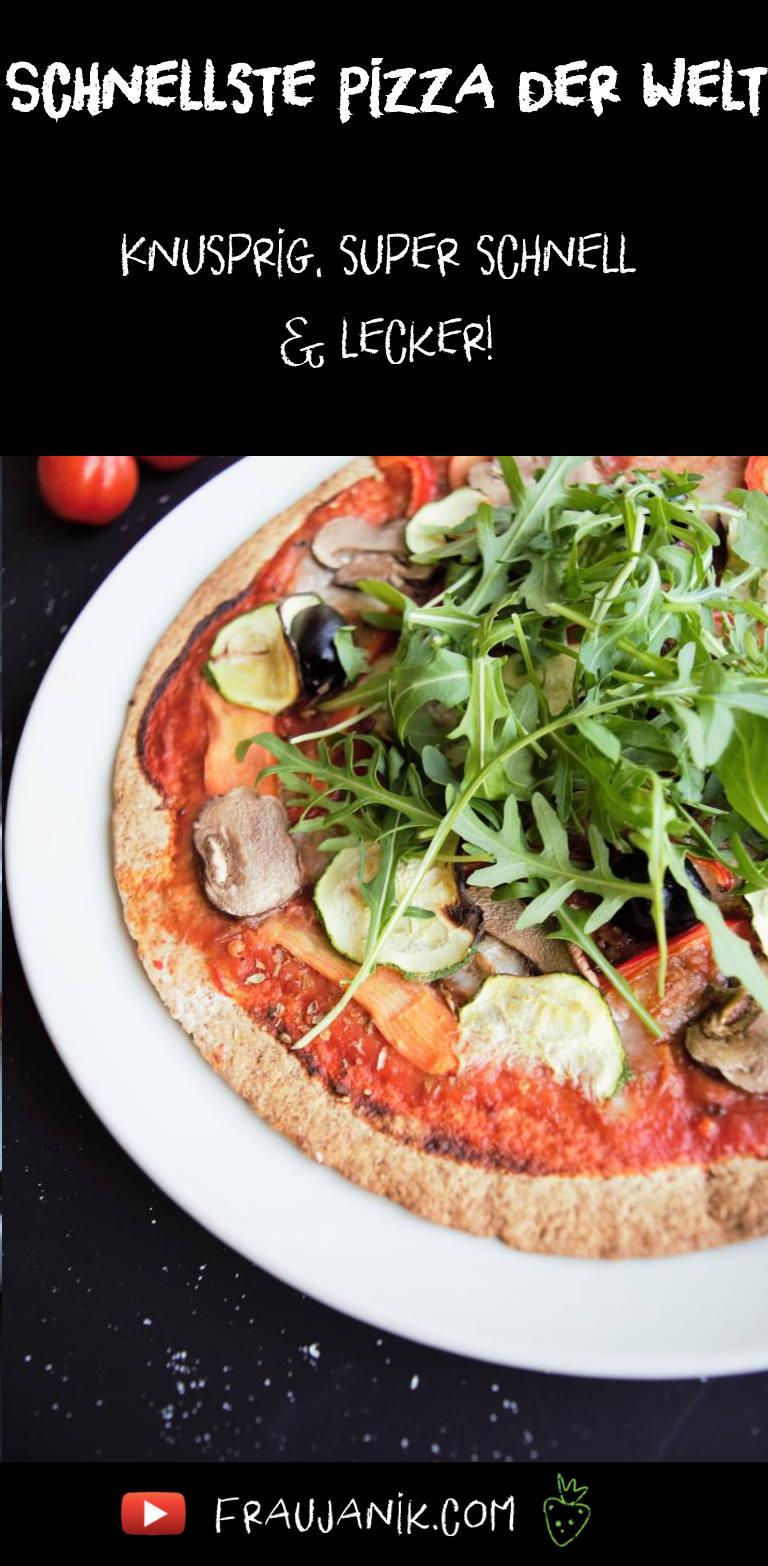 Tortilla Pizza,vegan