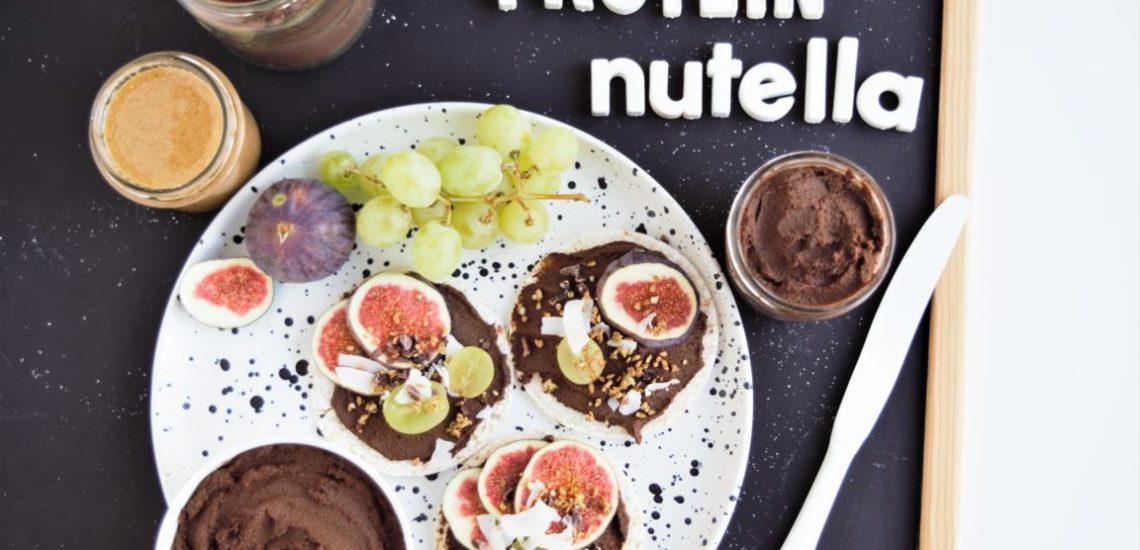 Protein Nutella- Schoko Hummus   ohne Proteinpulver & vegan