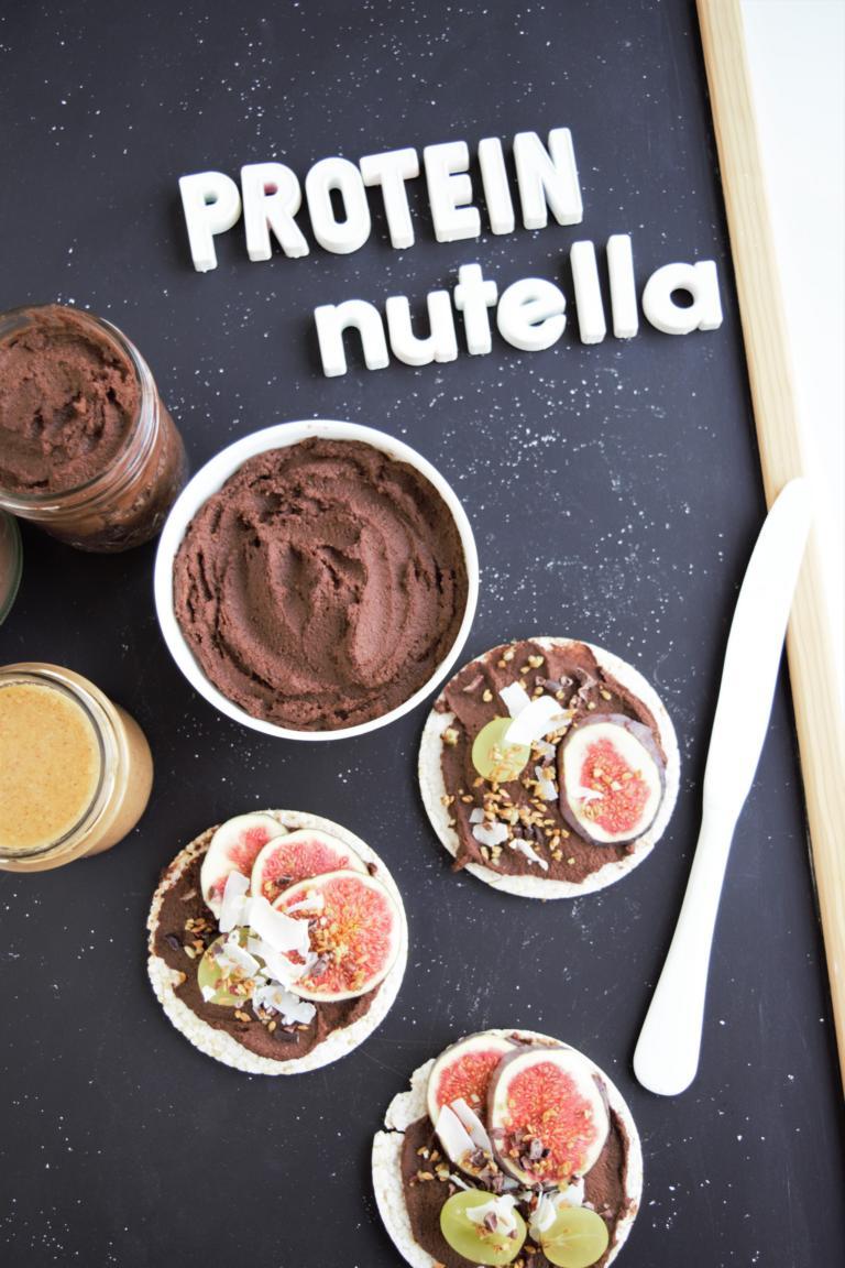 Protein Nutella - Schoko Hummus | ohne Proteinpulver & vegan