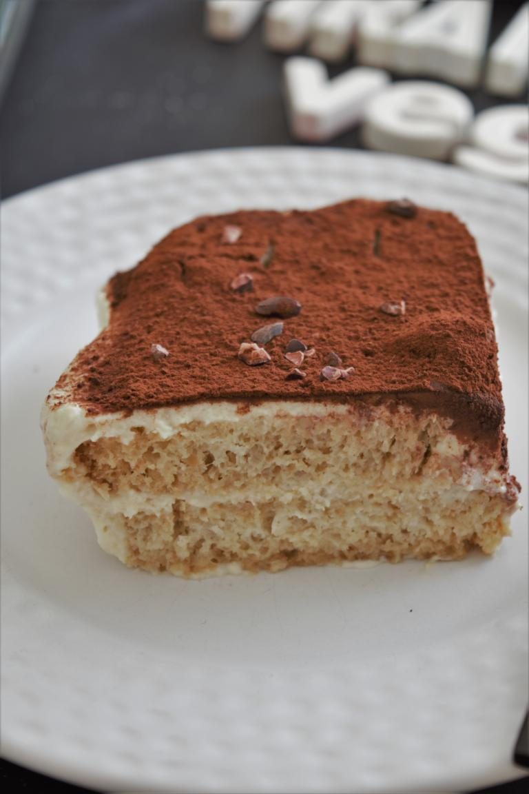 Tiramisu vegan, seidentofu, tofu, kokosmilch, ohne ei, laktosefrei mit kaffee