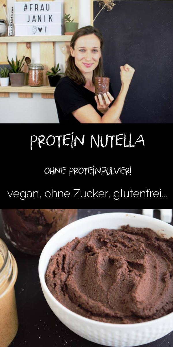 Protein Nutella- Schoko Hummus | ohne Proteinpulver & vegan