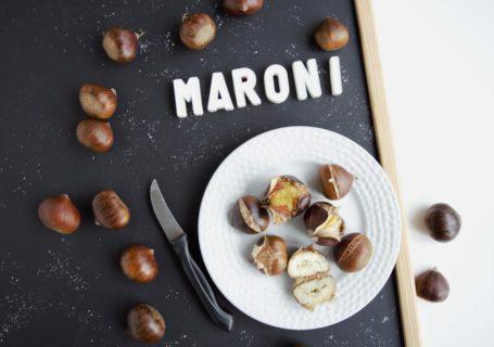 Maroni aus der Mikrowelle | gesunder Snack