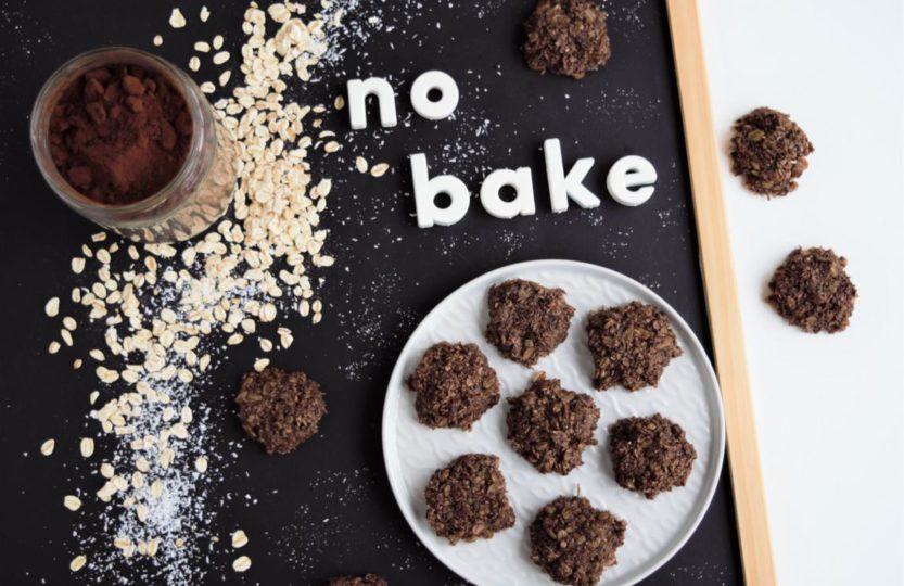 no bake hafer kokos schoko kekse