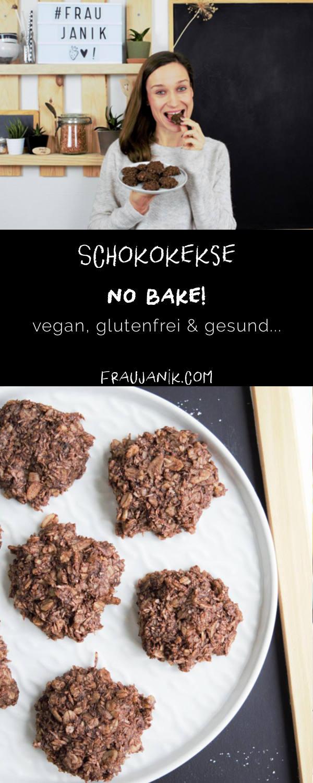 no bake hafer kokos schoko kekse frau janik