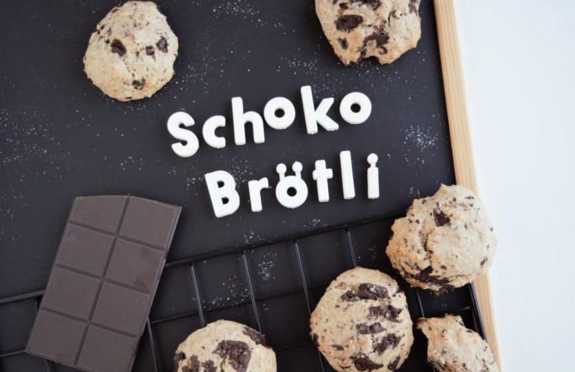 Schokobrötchen, vegan, Schokoladenbrötchen, ohne Hefeteig, gesunde Schokobrötli, Schoggibrötli, fraujanik