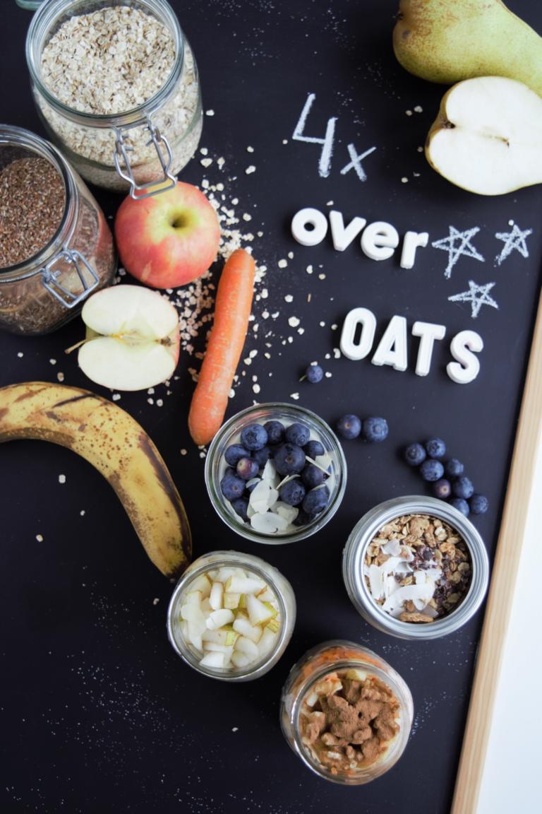 overnightoats,frühstück im glas, haferflocken,porridge,übernachthaferflocken,fraujanik, gesundes frühstück,frühstück to go
