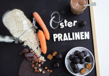 Osterpralinen/ Energie Kugeln | Osterhasen Resteverwertung | gesund, vegan & glutenfrei | Frau Janik