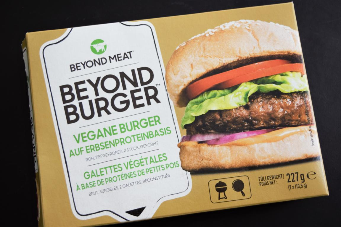 Beyond meat burger zubereiten