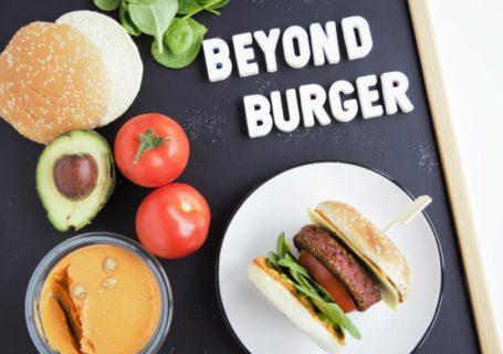beyond burger, beyond meat, coop, schweiz, hamburger, veganer burger, erbsenprotein, fraujanik