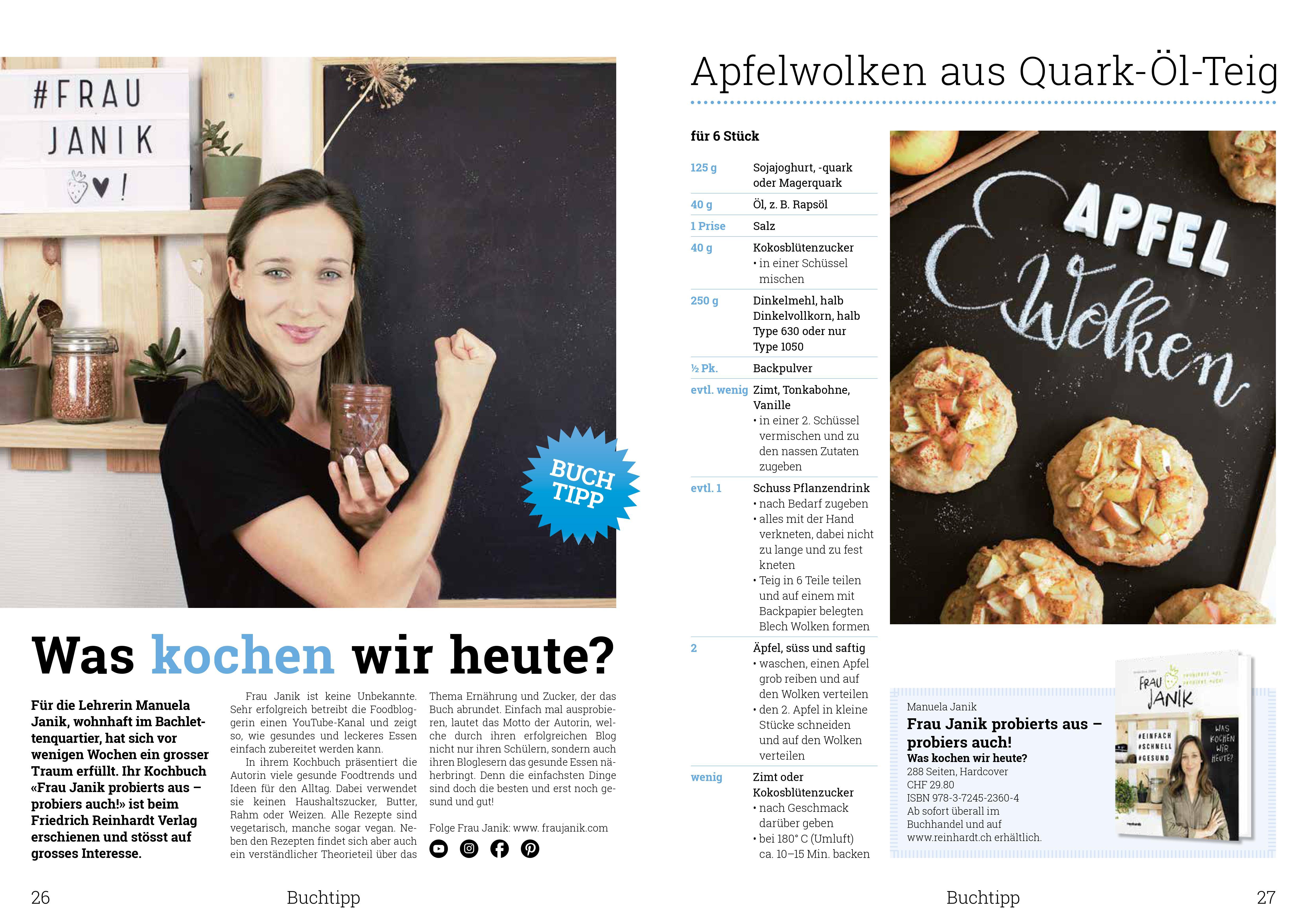 Neubad Magazin, basel, frau janik, reinhardt Verlag